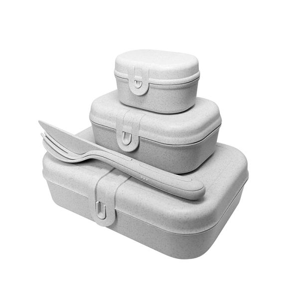 Set boîte à lunch + Set coutellerie