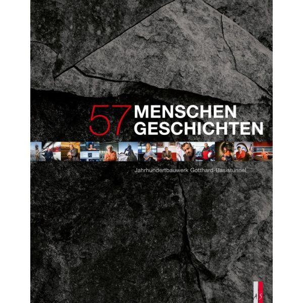 """Buch """"57 Menschen - 57 Geschichten"""""""