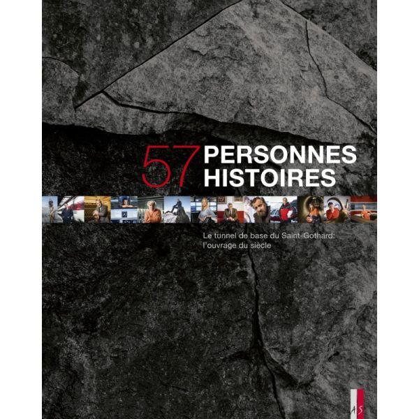 Livre «57 personnes – 57 histoires»