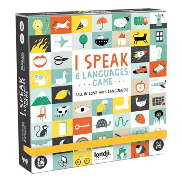 Lernspiel I speak 6 languages