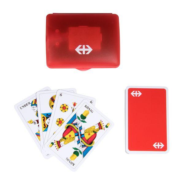 Boîte et cartes de Jass (version allemande)