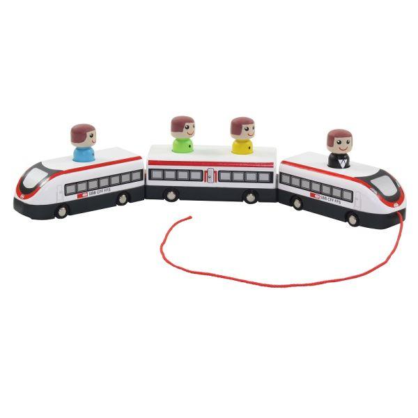 SBB Nachzieh-Zug mit Figuren