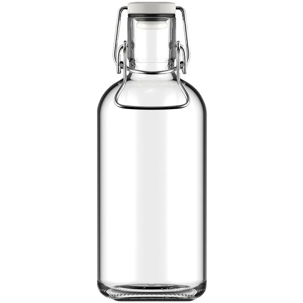 Glass drinking bottle (1 litre)