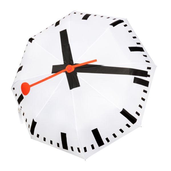 Pocket Umbrella Swiss Station Clock