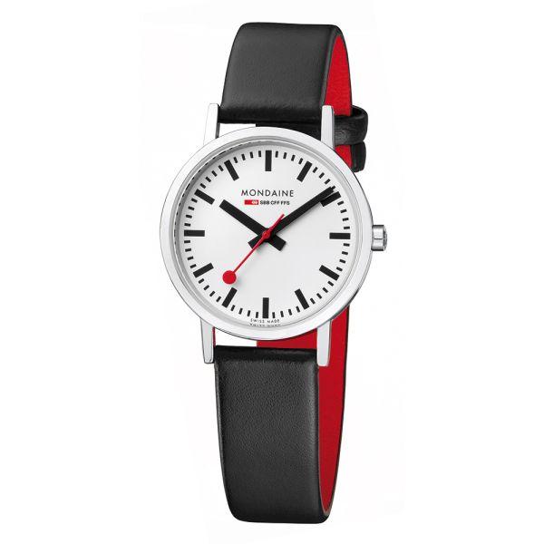 Mondaine SBB Armbanduhr Classic 30 mm poliert