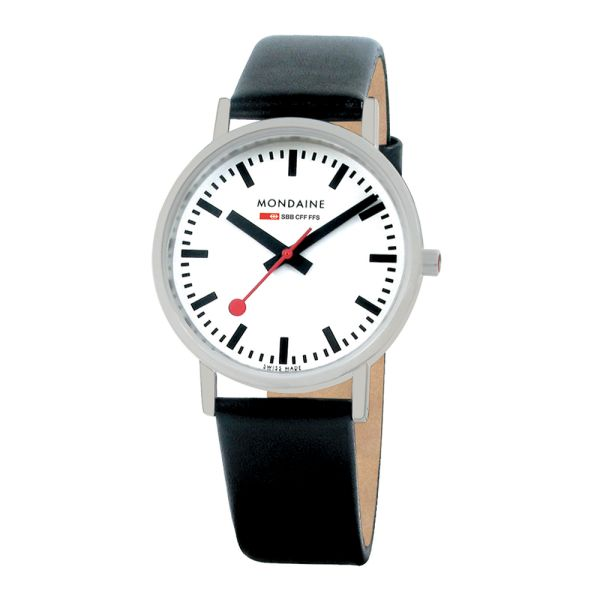 Mondaine SBB Armbanduhr Classic 36 mm mattiert