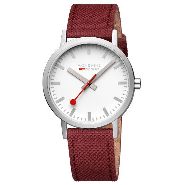 Mondaine SBB wristwatch Classic 40 mm