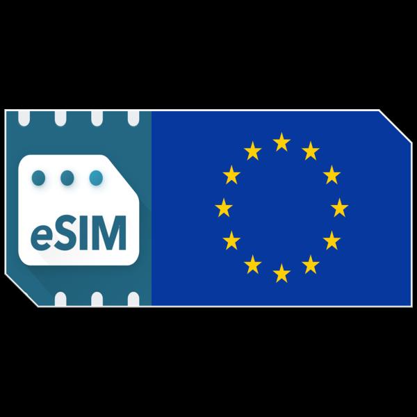 eSIM Europa Datenpaket