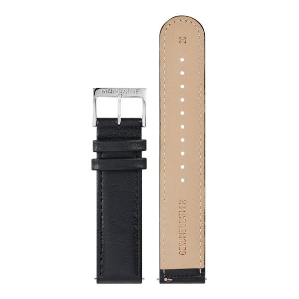Mondaine FFS cinturino in pelle 20 mm