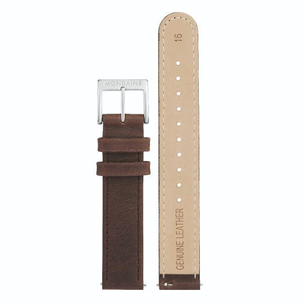 Mondaine CFF bracelet en cuir 16 mm