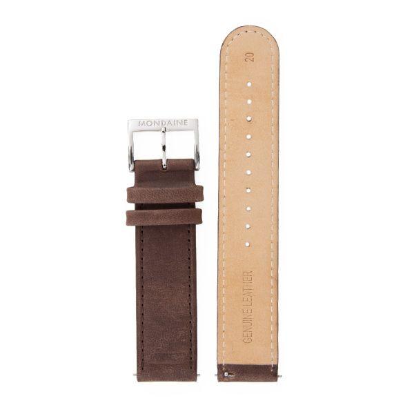 Mondaine SBB Armband Leder 20 mm