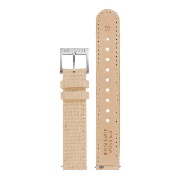 Mondaine FFS cinturino in tessuto 16 mm