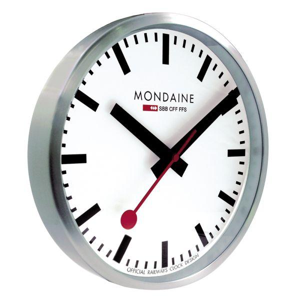 Mondaine SBB Wanduhr smart stop2go 25 cm