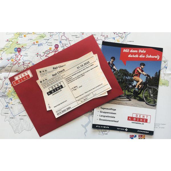 Tagesgutschein: E-Bike Miete von Rent a Bike