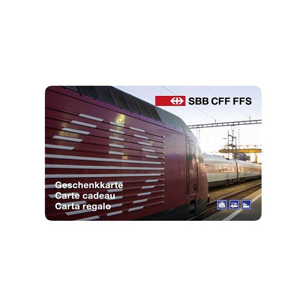 SBB Geschenkkarte