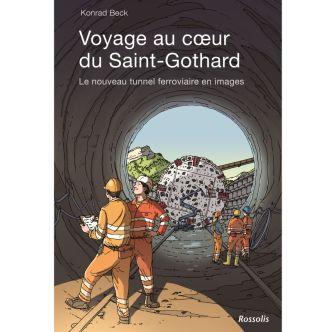 Livre pour enfants «Voyage au coeur du Saint-Gothard»