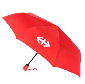 Parapluie de poche rouge
