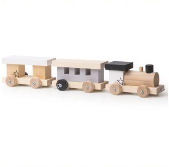 Modellino ferroviario in legno