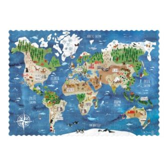 Pocket Puzzle Discover the world