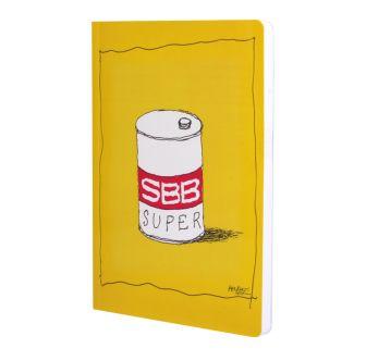 Quaderno per appunti «SBB SUPER»