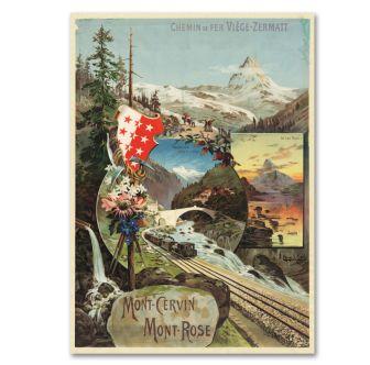 """Poster """"Mont Cervin"""""""
