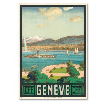 "Poster ""Genève"""