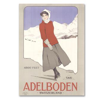 """Poster """"Adelboden"""""""