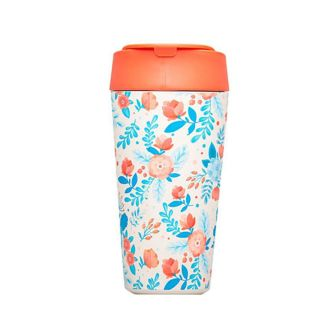 """Chic Mic bioloco """"Cup Red and blue flowers"""""""
