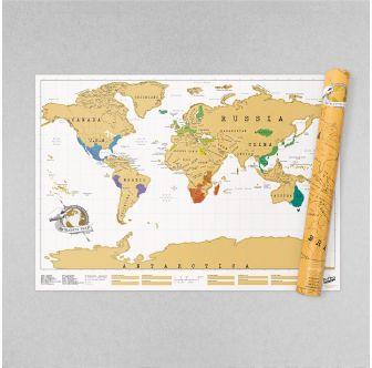 Scratch Map Original