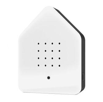 Zwitscherbox bianco/nero