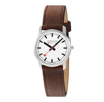 Mondaine SBB wristwatch Simply Elegant 36 mm