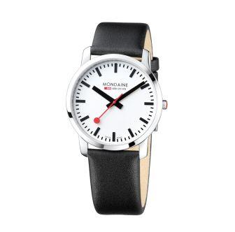 Mondaine SBB wristwatch Simply Elegant 41 mm