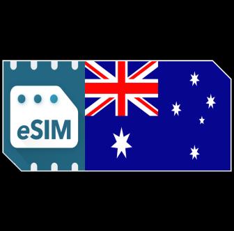 eSIM AustralienDatenpaket