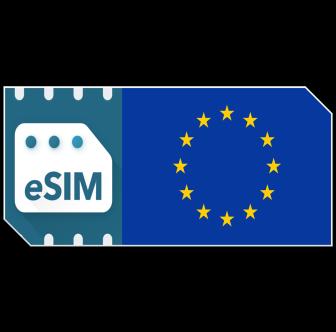 Pack de données eSIM Europe