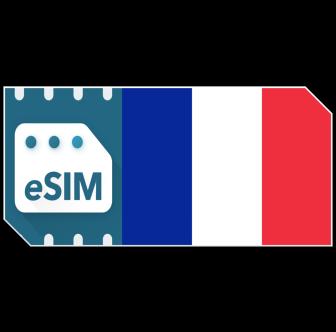 Pack de données eSIM France