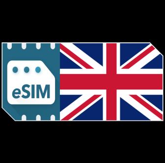 Pack de données eSIMRoyaume-Uni