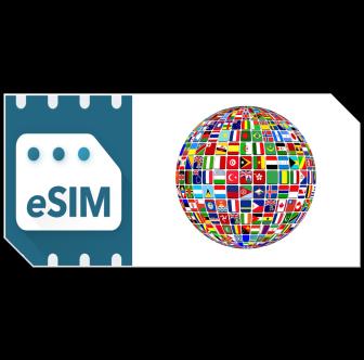 Pack de données eSIM International