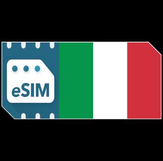 Pack de données eSIM Italie