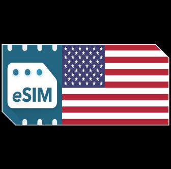 Pack de données eSIM USA