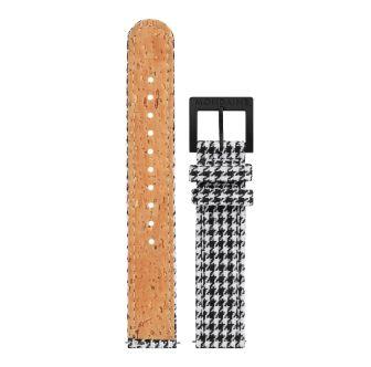 Mondaine SBB Textil Armband mit Korkfütterung 16 mm