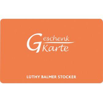 Lüthy Balmer Stocker Gutschein