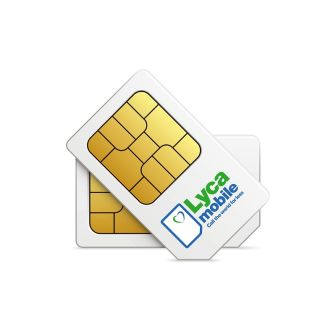 Lycamobile SIM-Karte für Prepaid Hello Swiss M
