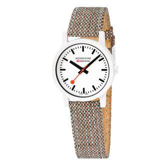 Mondaine FFS orologio da polso Essence 32 mm