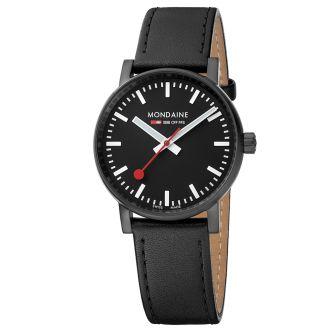 Mondaine SBB wristwatch evo2 35 mm