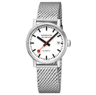 Mondaine FFS orologio da polso evo2 Automatic 35 mm