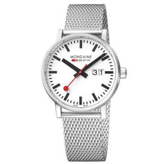 Mondaine SBB wristwatch evo2 40 mm