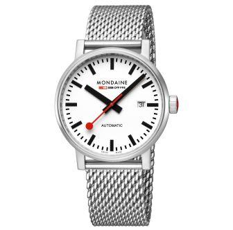 Mondaine FFS orologio da polso evo2 Automatic 40 mm
