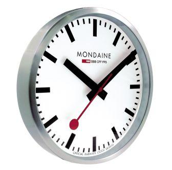 Mondaine SBB wall clock smart stop2go 25 cm