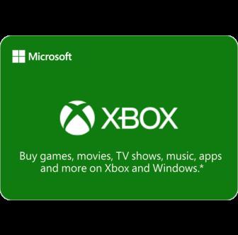 Microsoft Xbox Gutschein