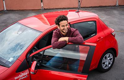 Réserver votre véhicule Mobility auprès des CFF.